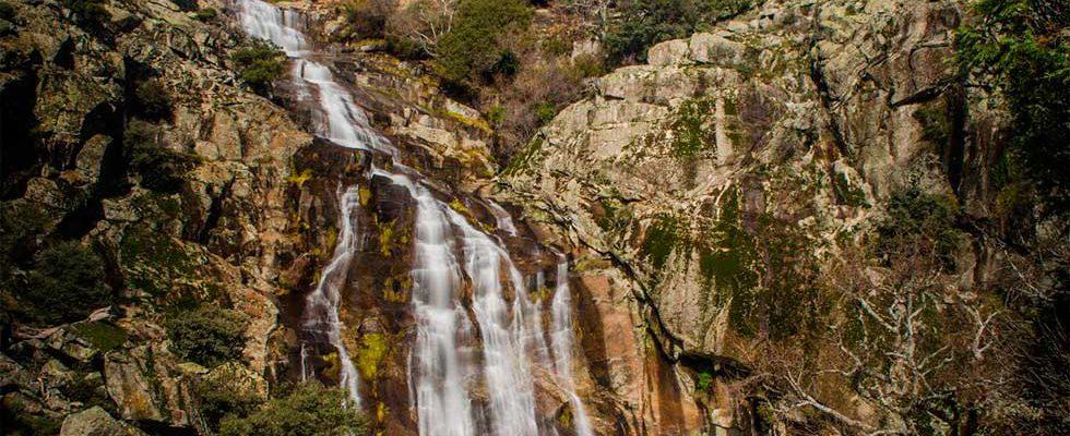 Gargantas naturales en la comarca de La Vera